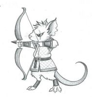 Mouse Archer by DragonsAndBeasties