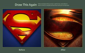 Draw This Again (Man of Steel) by DMelges