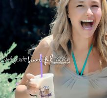 Smile,you're beautiful Action preview. by BrookeScott16