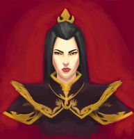 Fire Nation Princess Azula by saewah