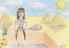 Looking at the pyramids by diegio1996