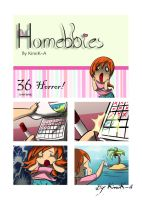 Homebbies 36 Horror by KimiK-A