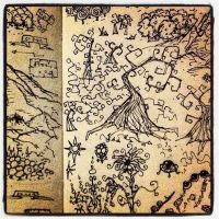 Trees Notebook Doodle by billiambabble