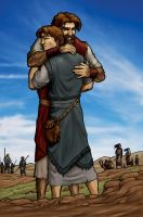 Jacob and Esau: The Return by eikonik
