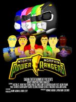 MMPR posters by CaptainBarringer