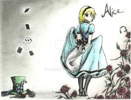 Alice of Wonderland by Zamious