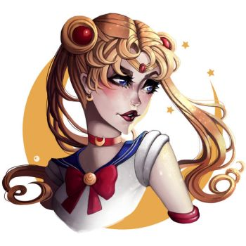 Sailor Moon by JELLYEMILY