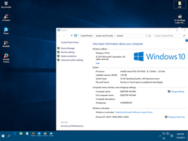 Windows 10 Pro 10240 System Properties by nhanminhle750