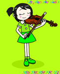 LILY PLAYS THE VIOLIN by HOBYMIIOFFICIEL