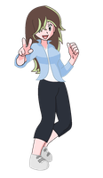 Pokemon Next Gen: NxRosa: Eve by shadowrosa6