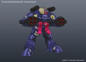 Trond Battlesuit Toontest by hauke3000