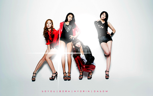 SISTAR So Cool Wallpaper by Awesmatasticaly-Cool