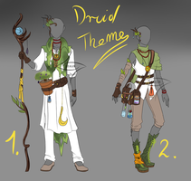 OUTFIT ADOPT - Druid Theme 2 [CLOSED] by lealin