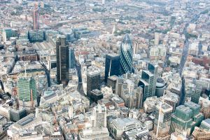 1000 Feet Above The Gherkin by fruitycube