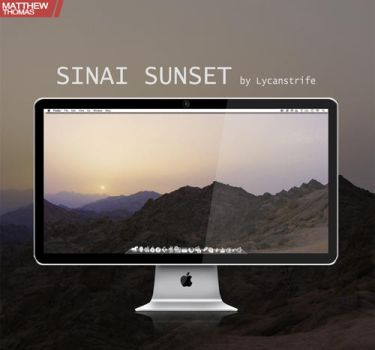 SINAI Sunset by Lycanstrife