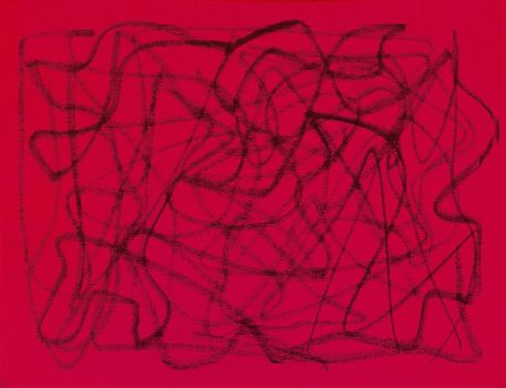 Abstract in Red by MarianaFuzaro