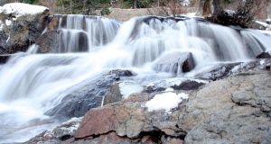 Tahoe-Emerald Bay Waterfall 2 by The-Assistant