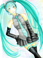 [VOCALOID] Hatsune Miku by jaljello