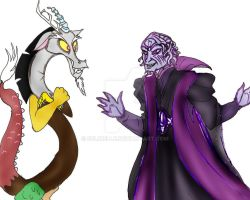 Discord meets Ivan Ooze by Selinelle