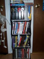 My DVD CD and Game Collection by jasondelima