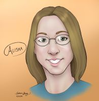 Alisha by silentsketcher