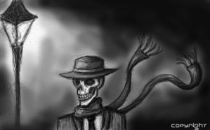 Skulduggery Pleasant by The-demons-heart