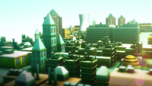 3D city by Sunny-GO