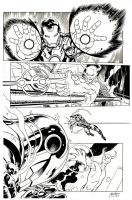 Inks - Avengers Page by Ed McGuinness by adr-ben