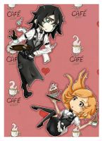Tea Time At Cafe Lust by Sarsie