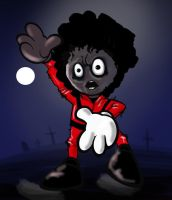 Fella Jackson in Thriller by Loviez