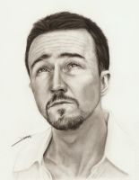 Edward Norton by AmBr0