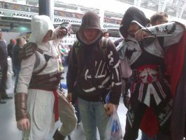 Three Assassins who follow one creed by M4X1LL10N