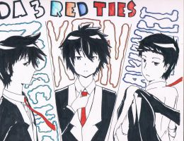 Da Red TIES!!! by Mocchi-Kun