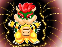 Chibi Bowser X33 by Bowser2Queen