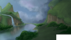 my first landscape by P1XlE
