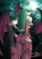 Comission - Morrigan by Danaki