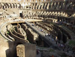 In the colosseum by Dyda81