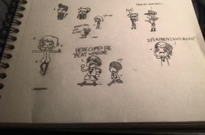 TWEWY Sketchdumpppppp by Suzaka-Flare