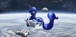 Ponies in Spaaaaaaaaaace by Foxi-5