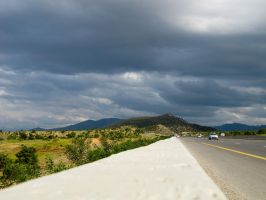 Clouds On The Highway.. by Youcef07