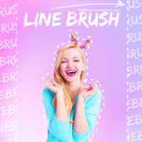 Line Brush by Edailhan