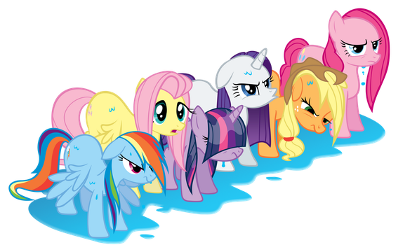 Angry Wet Ponies Are Angry... by TabbyDerp