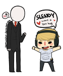 Slender Was Here by KamichiKun