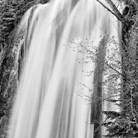 Spearfish Falls Close-up by CharlieA-Photos