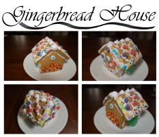 Gingerbread House by Little-Blue-Buggy