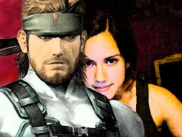 Snake and me by Arkkus