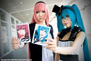 Vocaloids 03 and 01 by songster69