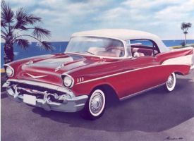 57 Chevy Bel-Air by Awtew