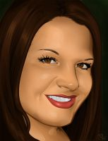 Nessas photoshop portrait by Illustrationdan
