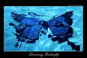 Drowning Butterfly by bizstice
